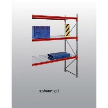 Weitspann-Anbauregal Stahl