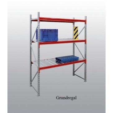Weitspann-Grundregal Stahl