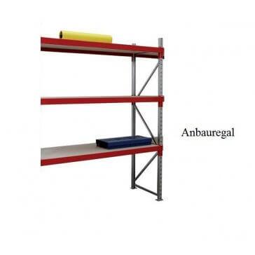 Weitspann-Anbauregal Holz
