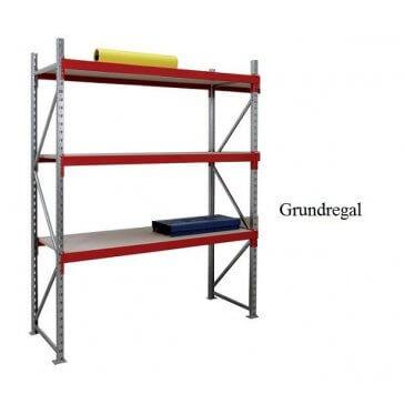 Weitspann-Grundregal Holz