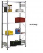 Standard-Grundregal 200x128x30 cm Fachlast 150 kg Feldlast 2.000 kg