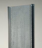 Regal-Rahmen mit Seitenwand (Lochblech) 300x60 cm