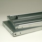 BERT-Stahlfachboden 87x30 cm Fachlast 350 kg
