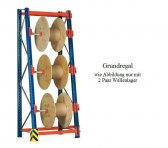 Kabeltrommel-Grundregal 336x110x53/100 cm Fachlast 500 kg