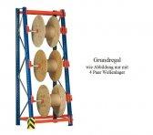 Kabeltrommel-Grundregal 462x90x36/100 cm Feldlast 4.000 kg