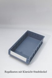 Klarsicht-Staubdeckel 23x50 cm