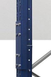 Palettenregal-Aufstockung 63x110 cm Stützrahmen-Enderhöhung