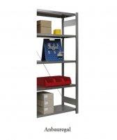 Ordnungs-Anbauregal 200x100x50 cm Fachlast 150 kg Feldlast 2000 kg (ohne Regalkästen)