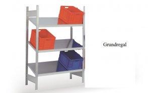 Schrägboden-Grundregal 200x128x60 cm Fachlast 150 kg Feldlast 2.000 kg