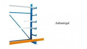 Kragarm-Anbaufeld 200x125x50 cm Feldlast 1.200 kg einseitig
