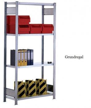 Standard-Grundregal 200x87x50 mm Fachlast 150 kg Feldlast 2.000kg