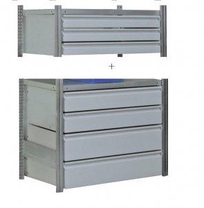 Schubladenblock-3 100x50x100 cm Tragkraft 60 kg