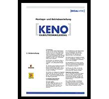 Montageanleitung KENO Kabeltrommelregal: 7,3 MB