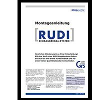 Montageanleitung RUDI: 0,5 MB